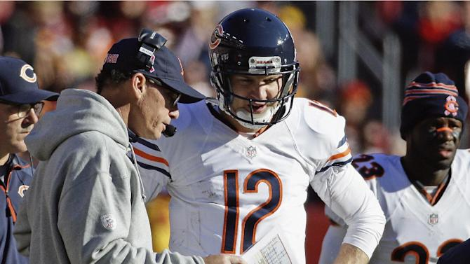 McCown set to start at QB for Bears vs Packers