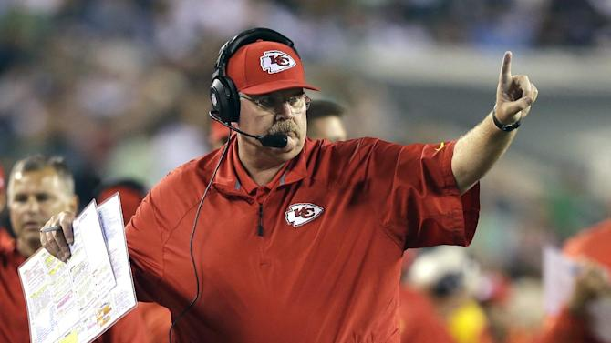 Chiefs off to perfect start under Andy Reid
