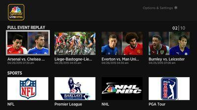 NBC Sports launches on Apple TV, but cable is required for live streams