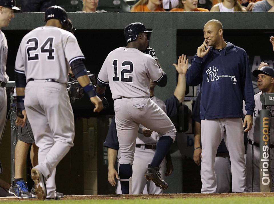 Yankees SS Jeter done for year with ankle injury