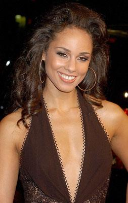 Alicia Keys at the Hollywood premiere of Universal Pictures' Smokin' Aces