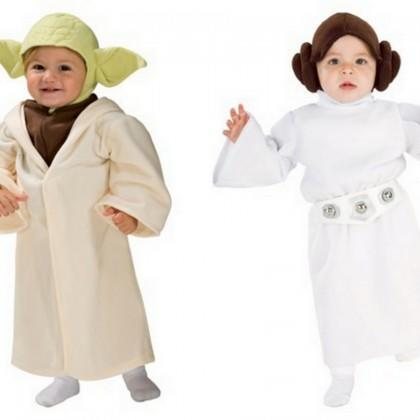 Yoda and Princess Leia