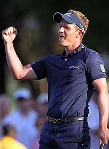 Luke Donald reclaims No. 1 ranking, sets sights on major title