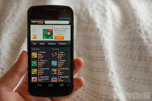 Amazon phone &#39;confirmed&#39;, modified Android OS expected. Phones, Amazon, Android, Android 4.0, Nokia, Nokia Maps, Google 0