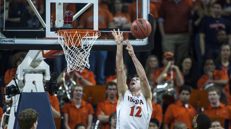 NCAA Basketball: NIT Tournament-Iowa at Virginia