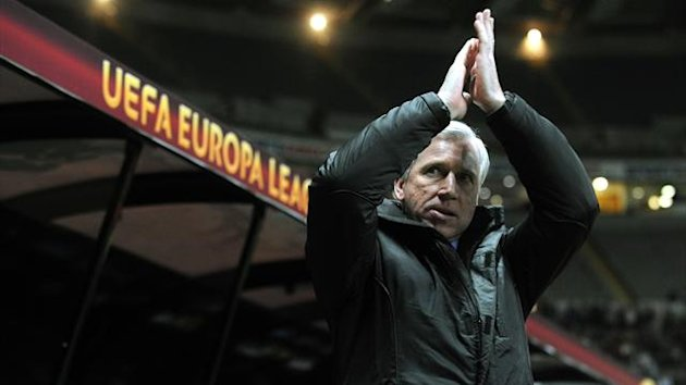 Alan Pardew's Newcastle take on Metalist Kharkiv in the Europa League on Thursday