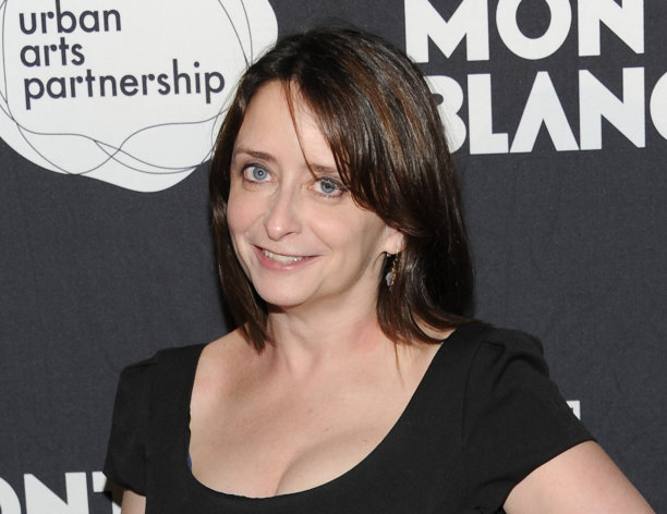 "FILE - This Nov. 14, 2011 file photo shows actress Rachel Dratch at the ""24 Hour Play"" after-party at B.B. King Blues Club in New York. Dratch and Mo Rocca will be getting down and dirty next month in a play about political sex scandals. The duo will star in ""Tail! Spin,"" a verbatim mash-up of the public interviews, secret e-mails, raunchy texts and Twitter gaffes that brought down such politicians as former South Carolina Gov. Mark Sanford, ex-Rep. Anthony Wiener, ex-Rep. Mark Foley and former Sen. Larry Craig. (AP Photo/Evan Agostini, file)"