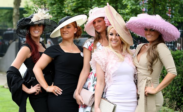 Top Five Trends at Royal Ascot 2012 From Rayban Clubmasters To Nude Shoes