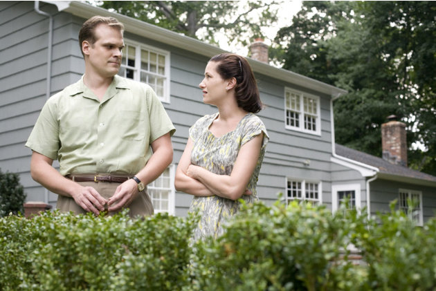 David Harbour Kathryn Hahn Revolutionary Road Production Stills Paramount Vantage 2008
