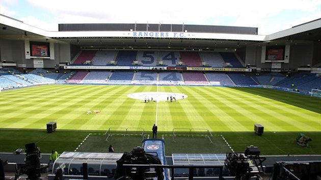 Ally McCoist is open-minded about the possibility of re-naming Ibrox