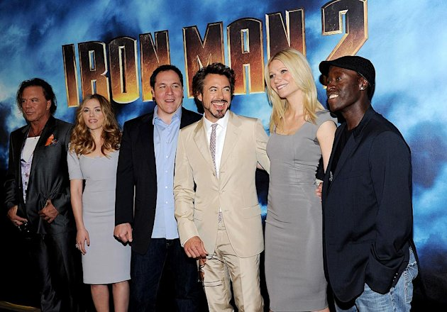 Iron Man Cast Phtcll