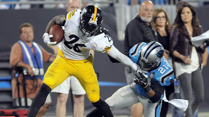 Bell, Blount carry Steelers past Panthers 37-19