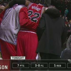 Taj Gibson Injury