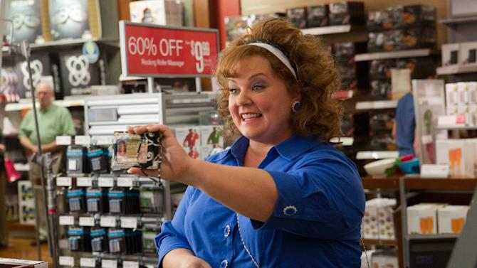 """This undated publicity image released by Universal Pictures shows Melissa McCarthy in a scene from, """"Identity Thief."""" (AP Photo/Universal Pictures)"""