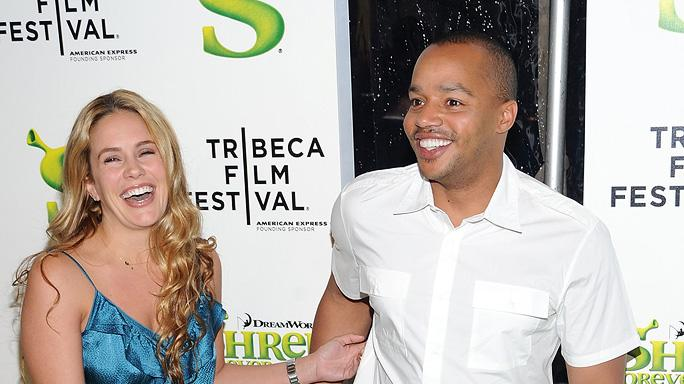 9th Annual Tribeca Film Festival Shrek Forever After Premiere 2010 Cacee Cobb Donald Faison