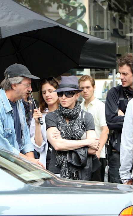 Madonna Movie Set In Paris