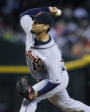 Tigers wear down Diamondbacks 11-5