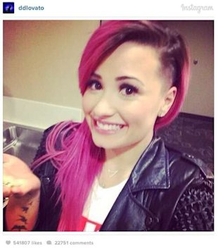 Demi Lovato's new hair