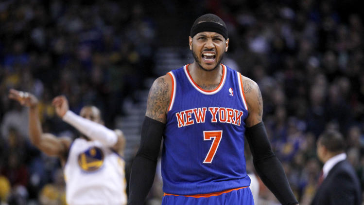 Carmelo Anthony, after getting $124 million from Knicks: 'I wan…