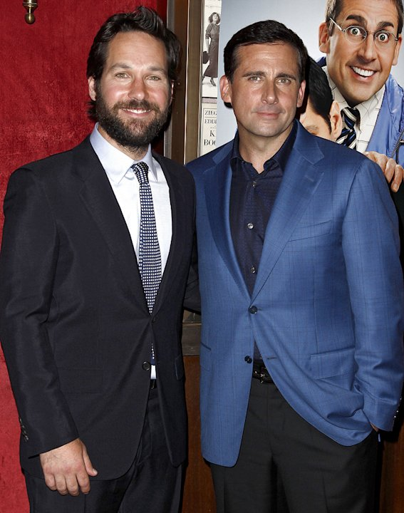 Dinner for Schmucks NY Premiere 2010 Paul Rudd Steve Carell