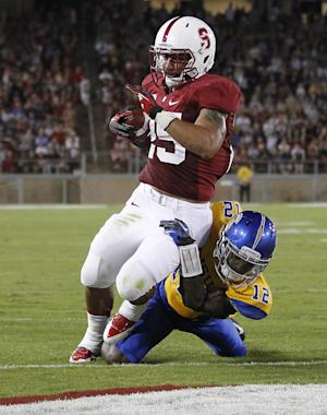 Gaffney, No. 5 Stanford beat San Jose State 34-13