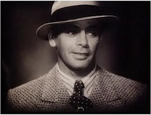 "Paul Muni as Tony Camonte in the original ""Scarface."""