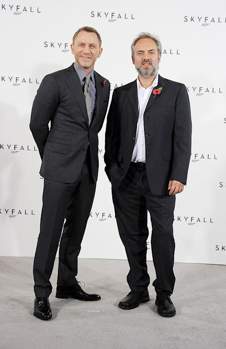Skyfall press conference 2011 Daniel Craig Sam Mendes