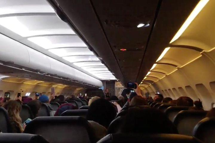 Flight attendant shouts out all the 'nasty women' headed to the Women's March on Washington