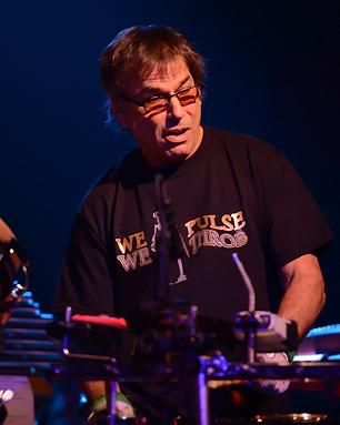 Mickey Hart performs in Fort Lauderdale, Florida. Photo by Larry Marano/Getty Images
