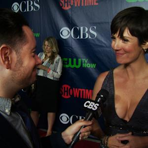 Fall Previews - CBS Press Tour Red Carpet: Zoe McLellan