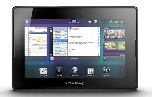 10. BlackBerry PlayBook\'s remote email