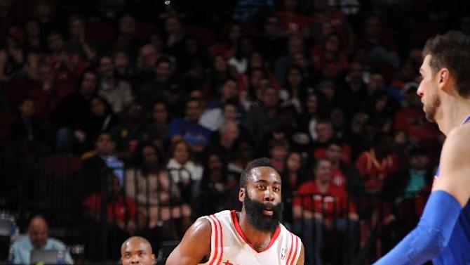 Rockets get 102-100 win over Knicks