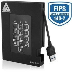 Apricorn Debuts New Aegis Padlock Fortress FIPS 140-2 Encrypted USB 3.0 Drive