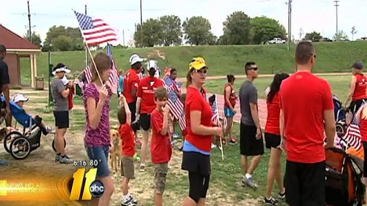 Fort Bragg runners honor Boston Marathon victims