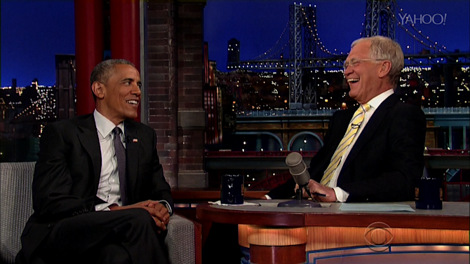 Obama and Letterman Plan Their Retirements Together