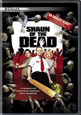 The DVD box art for Rogue's Shaun of the Dead