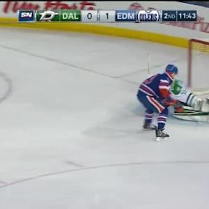 Kari Lehtonen Save on Ryan Nugent-Hopkins (08:19/2nd)