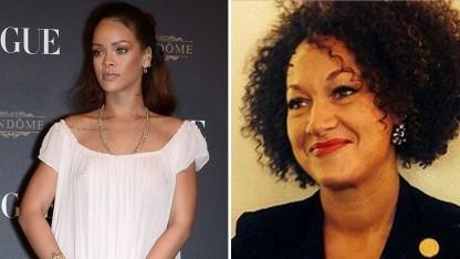 Rihanna Defends Rachel Dolezal, Says She is a 'Hero'
