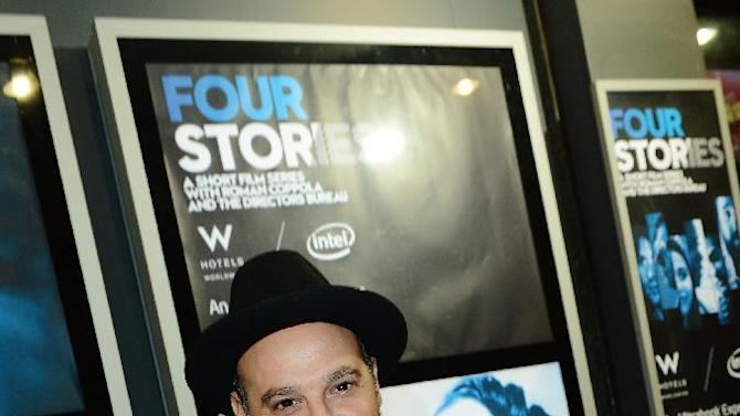 Chief Creative Officer at Vice Eddy Moretti seen at The Premiere of Intel & W Hotels' Four Stories on Tuesday, Nov. 27, 2012, W Hotel, London. (Photo by Jon Furniss/Invision for Intel/AP Images)