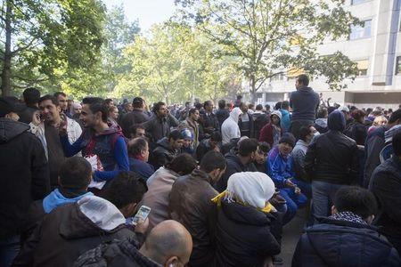 Germany faces logistical nightmare as refugee inflows hit record