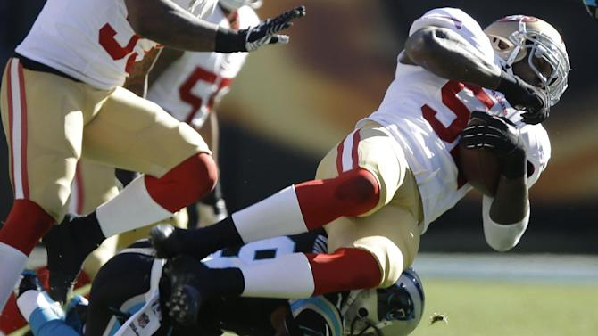 Linebackers lead way for 49ers into NFC title game