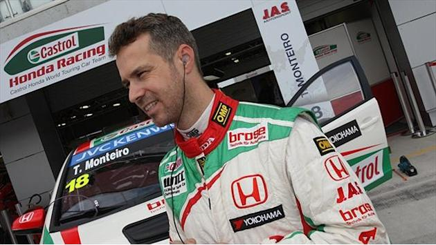 WTCC - Monteiro: Home podium is my goal