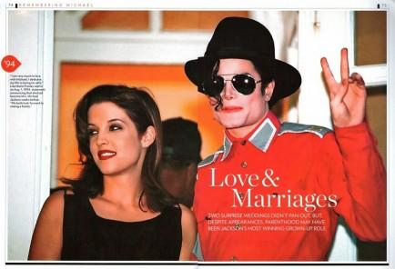 Michael Jackson and Lisa Marie Presley Wed
