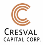 Cresval Capital Corp. Acquires Additional Claims at Aumax Property