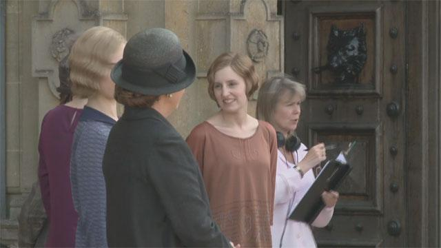 'Downton Abbey' Exclusive: Behind the Scenes
