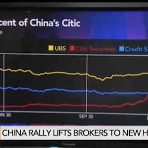Citic Builds Market Value of $55B as China Stocks Rally