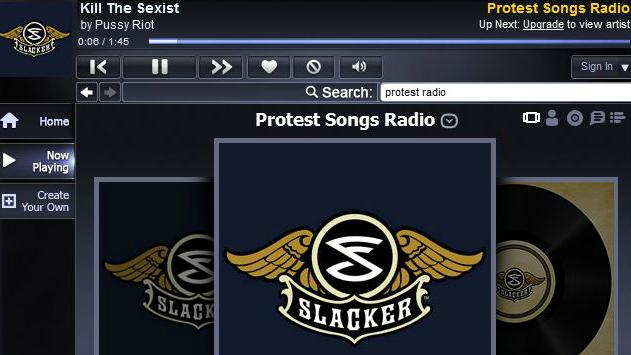 Pussy Riot Songs Added to 'Protest' Station on Slacker Radio
