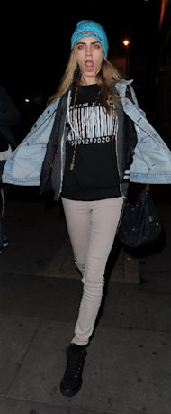 Cara Delevingne Rocks Sporty Trapstar Chic For London Bash, Get The Look