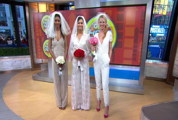 Wedding Jumpsuits: The Hot New Trend Of 2014