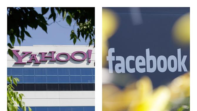 Yahoo, Facebook strike patent truce, ad alliance